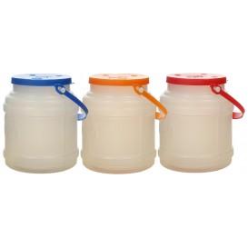 Garrafa Cilíndrica Translúcida 500 ml (10 Uds)