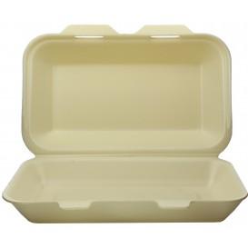 Embalagem Foam LunchBox Champahne 240x155x70mm (125 Uds)