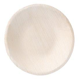 Tigela de folha de palmeira 16,5x3,5cm (25 Unidades)