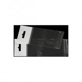 Saco PP Biorientado Dobra Adesivo e Eurotaladro 8x12cm G160 (100 Uds)