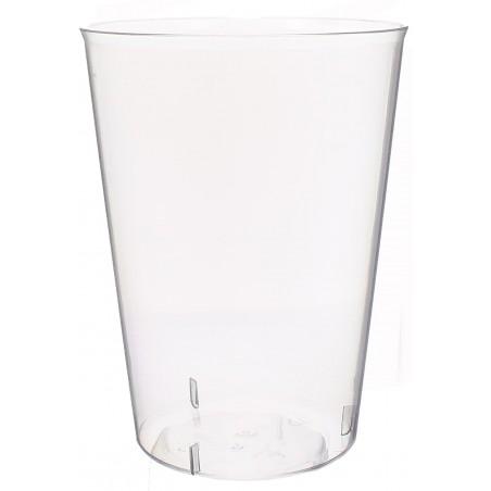 Copo de Plastico Cristal Sidra PS 600ml (25 Unidades)