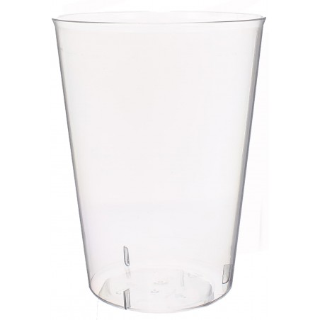 Copo de Plastico Cristal Sidra PS 600ml (500 Unidades)
