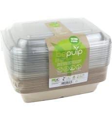 Kit Embalagems Cana-de-açúcar+tampa 230x160x60mm (1 kit)