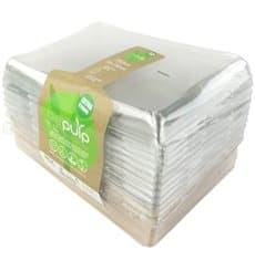 Kit Bandejas Cana-de-açúcar+tampa 220x160x60mm (6 Kits)