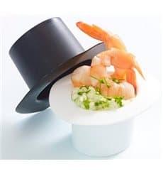 "Sombrero Degustação ""Hot Form"" Branco PP 60ml (24 Uds)"