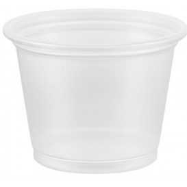 Copo Plastico PP para Molhos 30ml Ø48mm (2500 Uds)