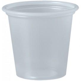 Copo Plastico PP para Molhos Transp. 35ml Ø48mm (2500 Uds)