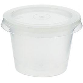 Copo Plastico Molhos Tampa PP 33ml (100 Unidades)