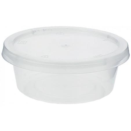 Copo Plastico Molhos Tampa PP 85ml (100 Unidades)