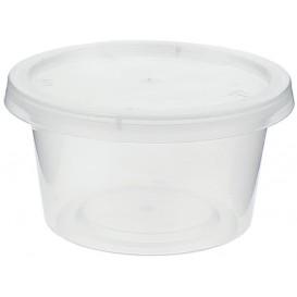 Copo Plastico Molhos Tampa PP 120ml (100 Unidades)