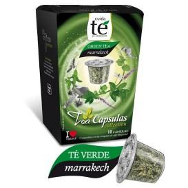 Cápsulas Nespresso* Compatível Chá Verde Marrakech(10 Uds)