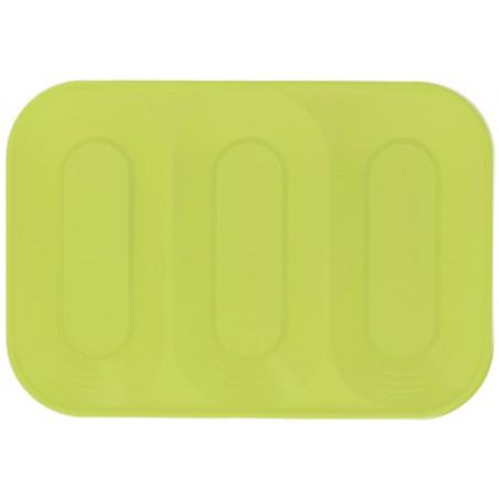 Bandeja Plastico 3C Limão PP 330x230mm (2 Unidades)