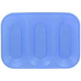 "Bandeja Plastico PP ""X-Table"" 3C Violeta 330x230mm (2 Unidades)"