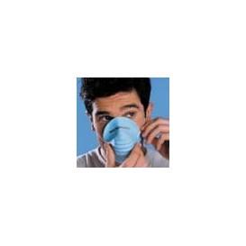 Máscara Tipo Concha em Polipropileno Azul (50 Uds)