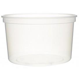 Embalagem Plastico Redondo Transp 500ml  Ø11,5cm (50 Uds)