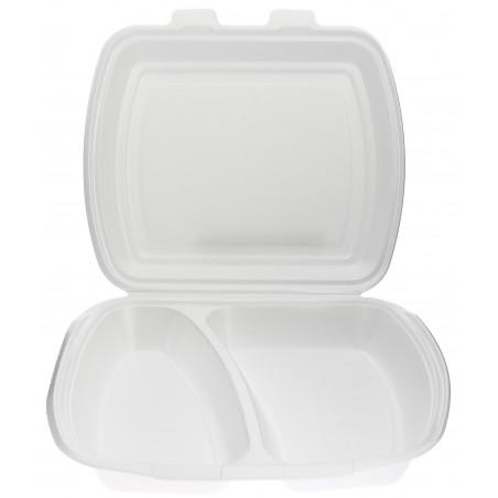 Embalagem Foam PortaMenus 2 Compartimiento (125 Uds)