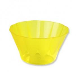 Copo Plastico Royal PS 500ml Amarelo (550 Unidades)