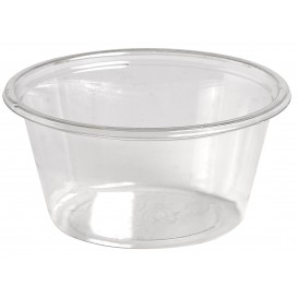 Copo para Molhos rPET Cristal 60ml Ø6,2cm (250 Uds)