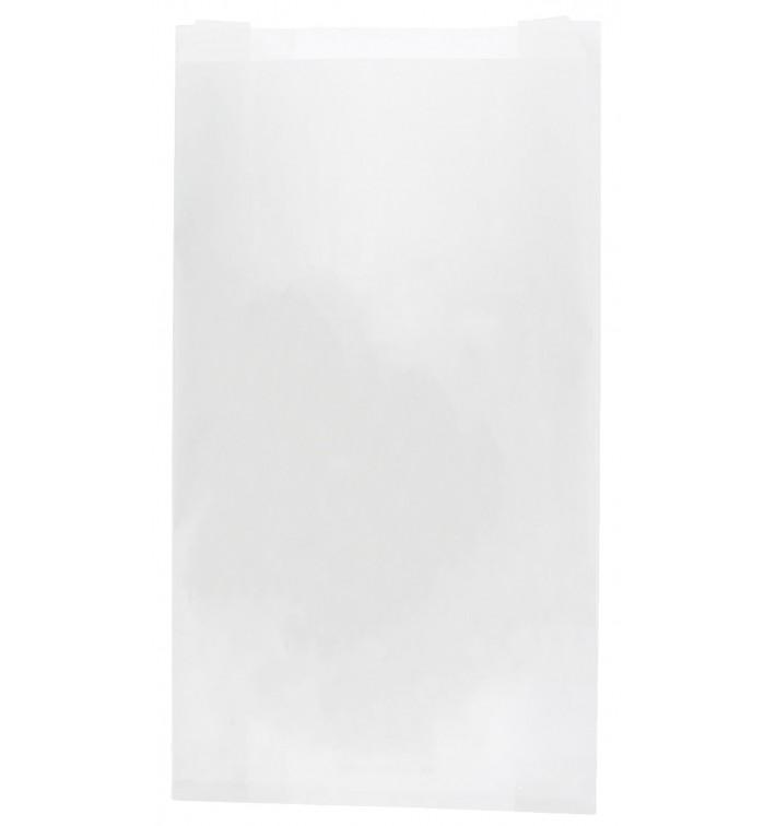 Saco de Papel Branco 18+7x32 cm (250 Unidades)