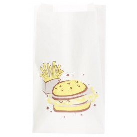"Saco de Papel ""Saky Food"" 14+7x24 cm (1000 Uds)"