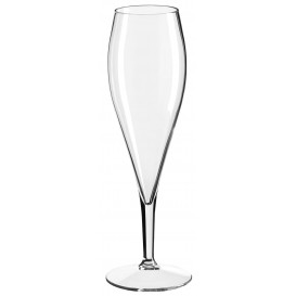 Copo Reutilizáveis Flute Champanhe Transparente TT 375ml (6 Uds)