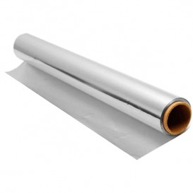 Folha Aluminio 30 cm x 50 metros 11 Microns (40 Uds)