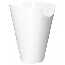 "Embalagem Degustação ""Click-Clack"" PP Branco 180ml (10 Uds)"