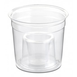 "Copo Plastico ""Shot Bomb"" PS Cristal 250ml (50 Uds)"