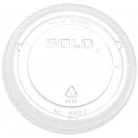 Tampa Fechada Para Copo PET Solo Ultra Clear 16Oz Ø9,86 e 24Oz (100 Uds)