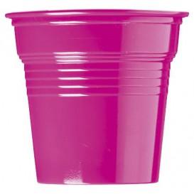 Copo de Plastico PS Fúcsia 80 ml Ø5,7cm (50 Uds)