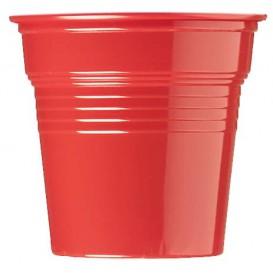 Copo de Plastico PS Vermelho 80 ml Ø5,7cm (1500 Uds)