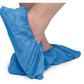 Cobre Sapatos TST de PP Azul com Sola Reforçada CPE Azul (50 Uds)