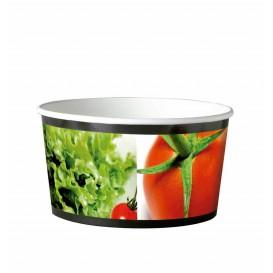 Saladeira Cartolina Redondo Pequeña 635ml (45 Uds)