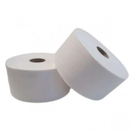 Rolo Higiênico Industrial Folha Dupla 0,45 Kg Pasta Lisa 150m (18 Uds)