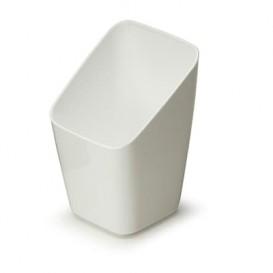 Copo Degustação Plástico Branco 4x4x7cm (200 Uds)