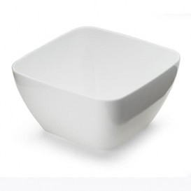 Tigela Degustação de Plástico Branco 5x5x3cm 75ml (20 Uds)