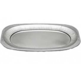Bandeja Oval de Aluminio 2150 ml (60 Unidades)