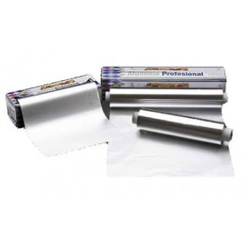 Folha Aluminio 40 cm x 300 metros 13 microns 3,1Kg (1 Ud)