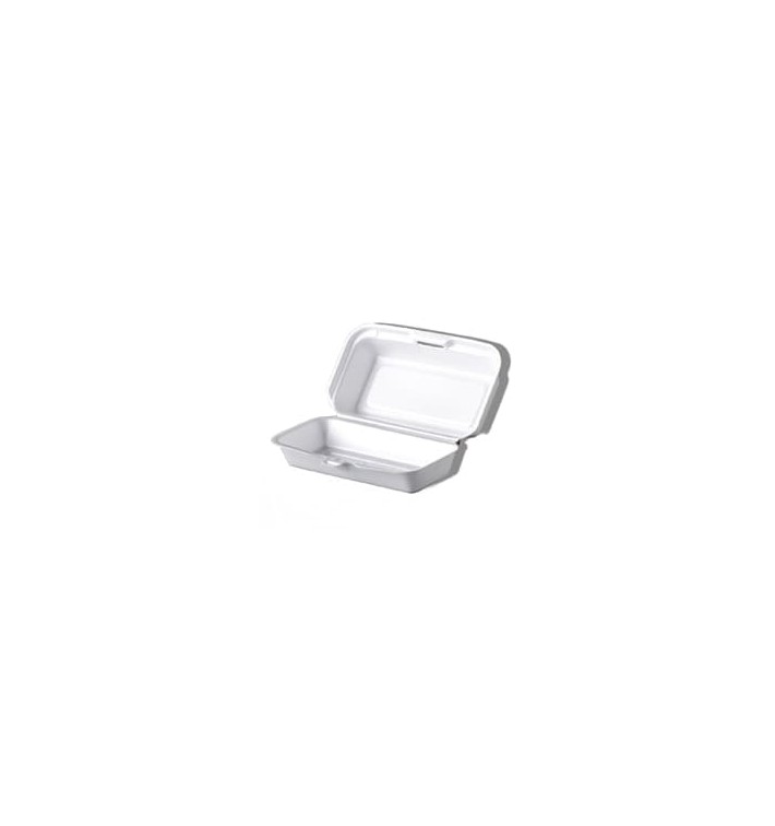 Embalagem Foam HotDog Branco (500 Uds)