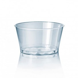 Taça de Plastico PET Cristal 300ml Ø11cm (50 Uds)