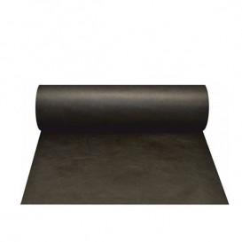 Toalha em Rolo Não Tecido 1x50m 50g Preto (1 Ud)