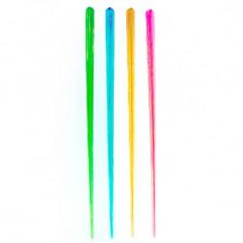 Agitador Bebidas de Plástico 175mm Fluorescente (100 Uds)