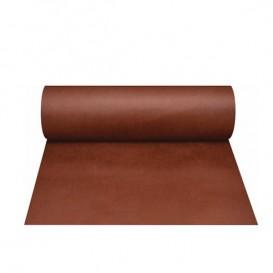 Toalha em Rolo Não Tecido 0,4x48m 50g Marrom (6 Ud)