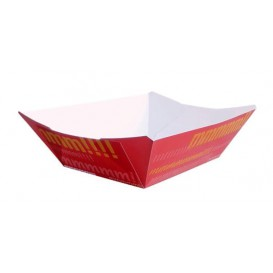 Barqueta Cartolina 9,6x6,5x4,2cm 250ml (50 Uds)