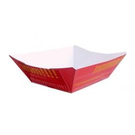 Barqueta Cartolina 11,0x7,0x3,5cm 300ml (25 Uds)