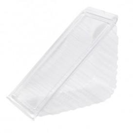 Embalagem Plastico Sanduíche Tripla 18,3x8,7x7,8cm (50 Uds)