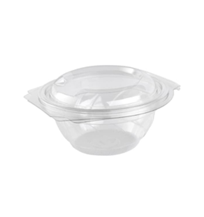 Tigela Saladeira Tampa Bisagra Pet 750 ml (360 Uds)