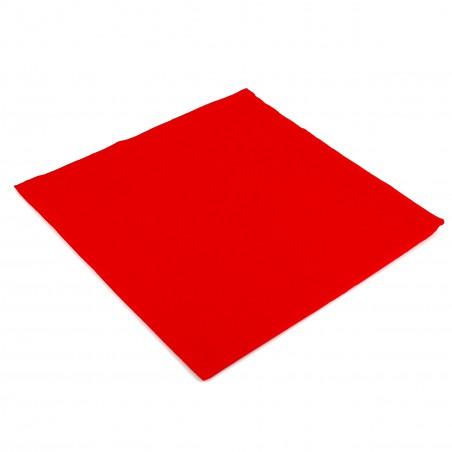 Guardanapos de Papel 40x40cm Vermelho (50 Unidades)