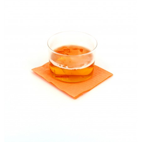 Guardanapos Papel Cocktail Salmon 20x20cm (100 Uds)