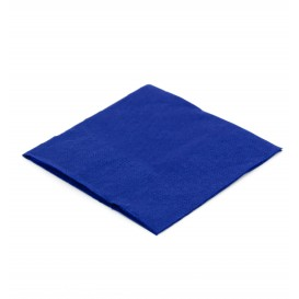 Guardanapos Papel Cocktail Azul 20x20cm (6.000 Uds)